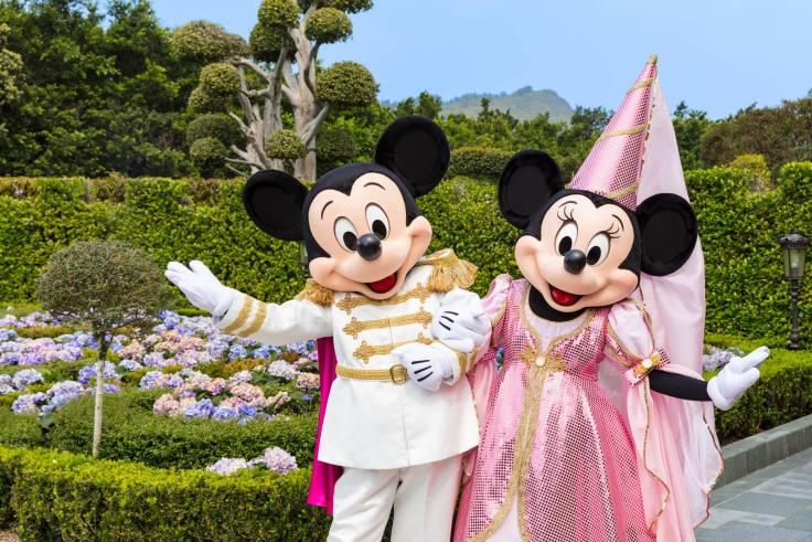 Prince Charming Mickey Princess Minnie Carnivale of Stars Hong Kong