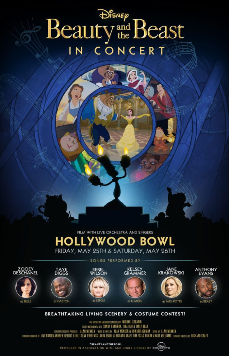 Beauty and the Beast Hollywood Bowl