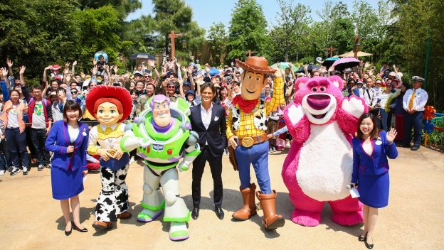 Shanghai Toy Story Land Grand Opening