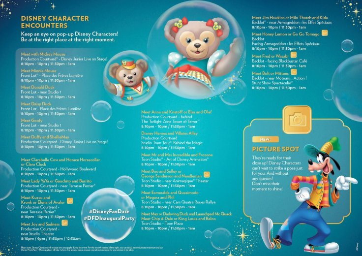 FanDaze Character Program