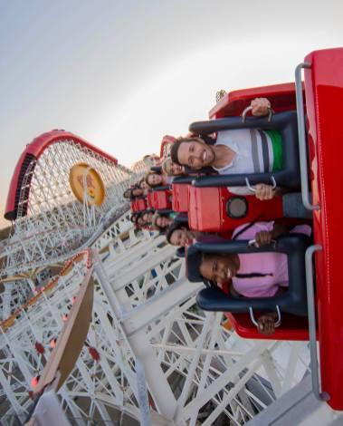Incredicoaster Ride