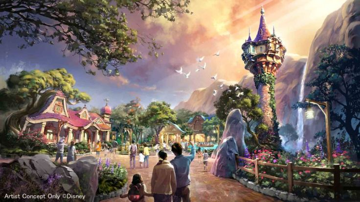 Tokyo Disney 2022 Tangled