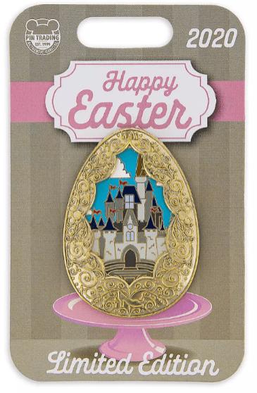 Cinderella Castle Easter Egg Pin