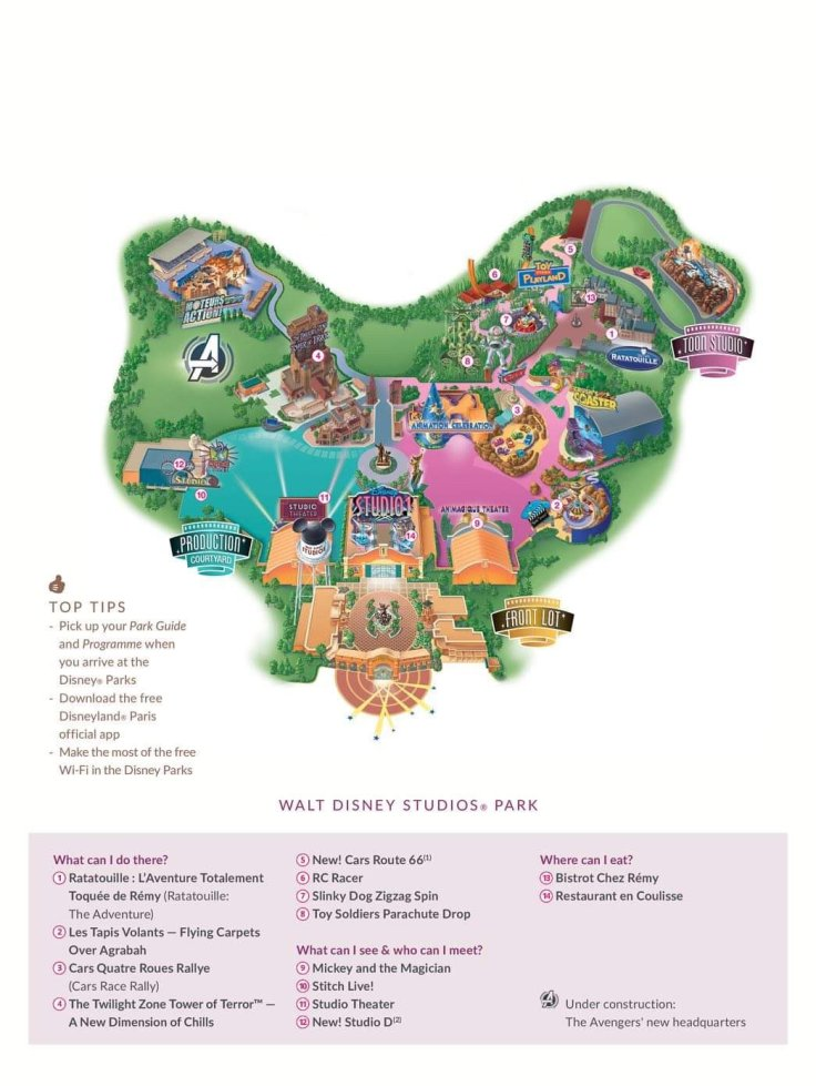 Walt Disney Studios Park Expansion