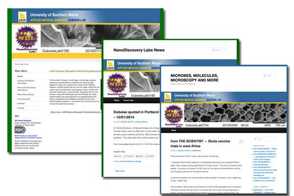 USM - Nano Discovery Lab Web Development, SEO, Blogs