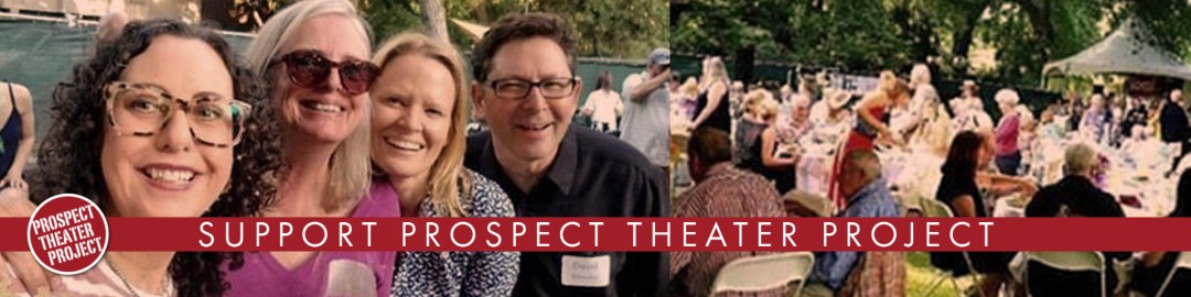 donors enjoying a fundraising event to support prospect theater project