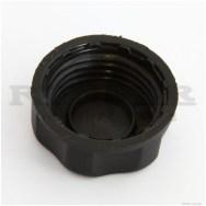 PLASTIC CAP FOR REMOVABLE FUEL TANK