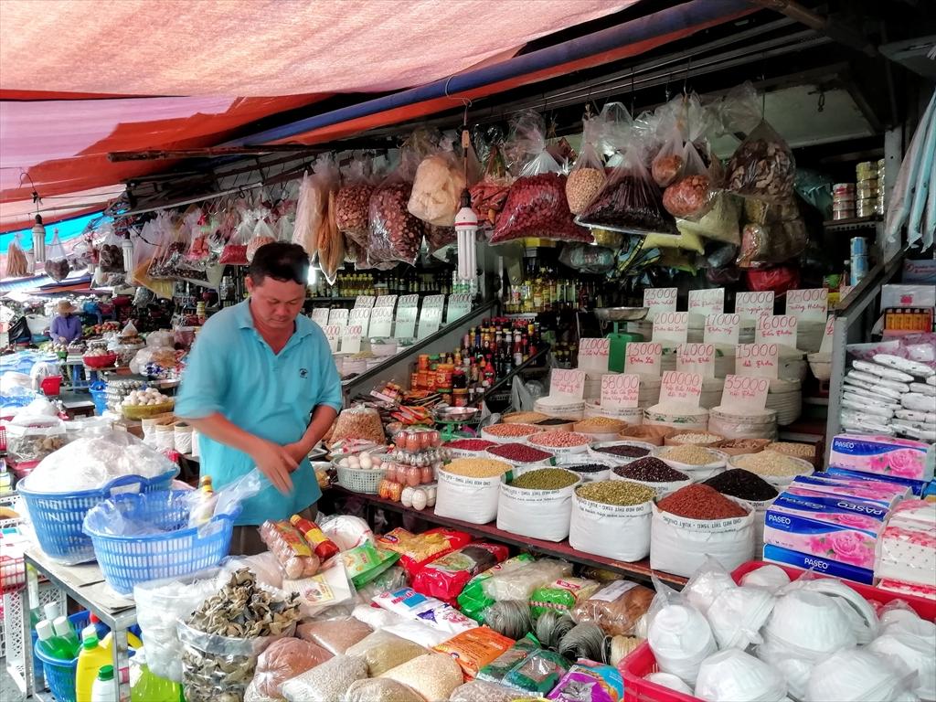 ホーチミン・市場