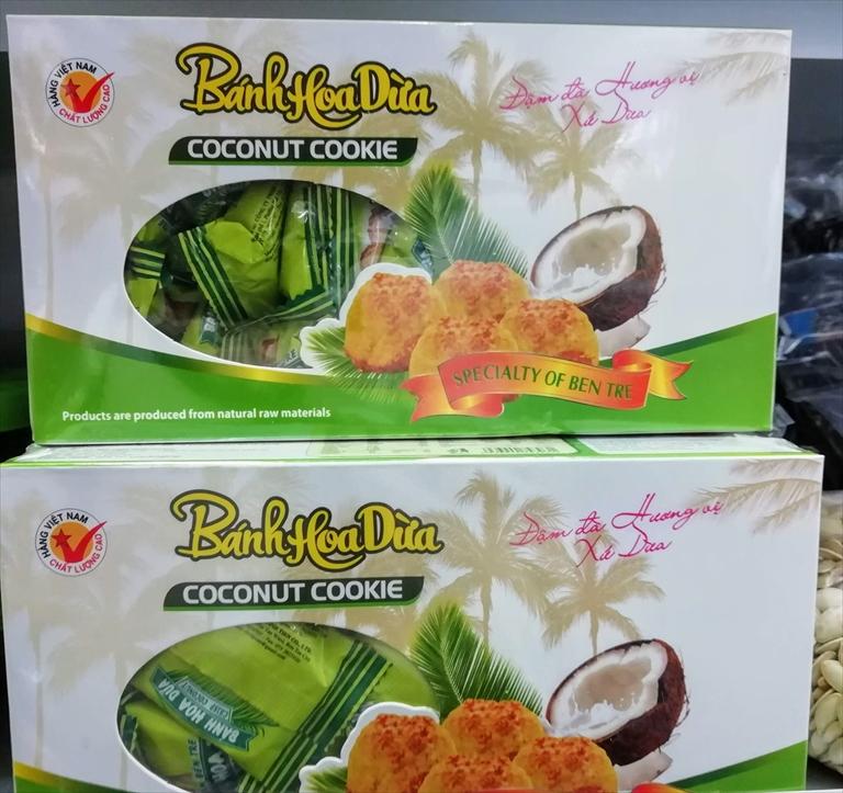ベトナムココナッツクッキー