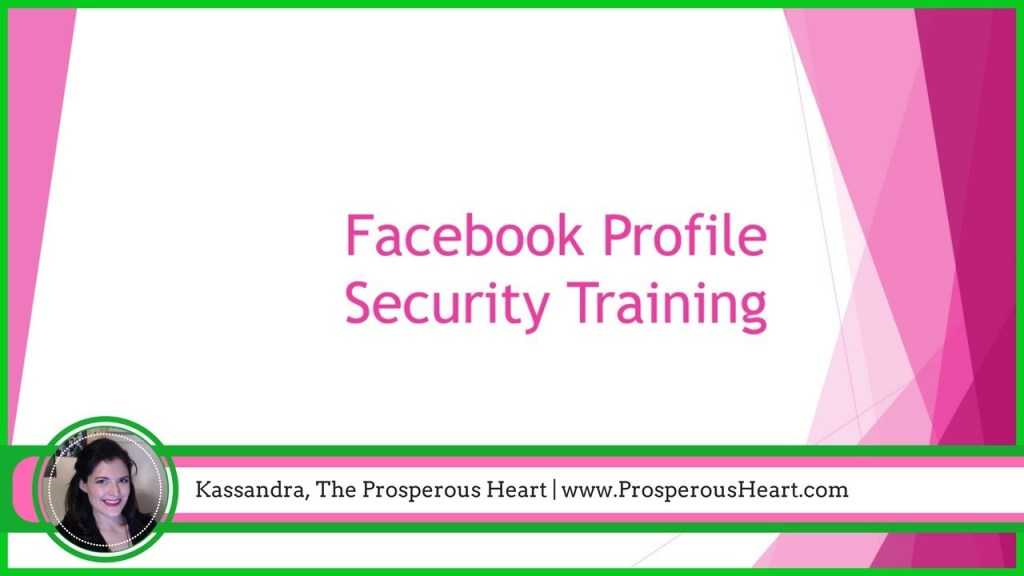 facebook privacy settings prosperous heart
