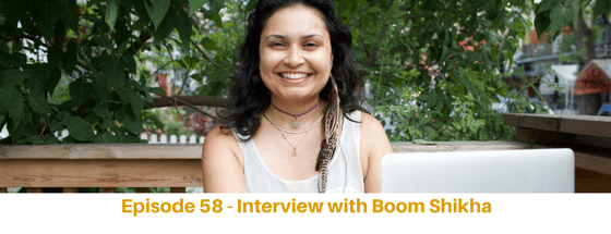 Episode 58: Interview with Boom Shikha, From Frugal to Worth it