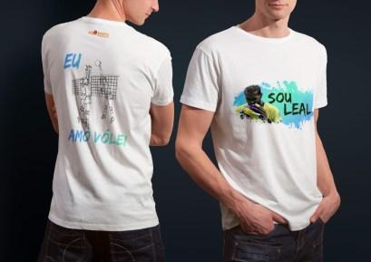 Camiseta Preta Estampa Colorida Yoandy Leal - Unissex