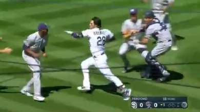 Photo of The First Fight of the MLB season: Rockies, Padres wild brawl [VIDEO]