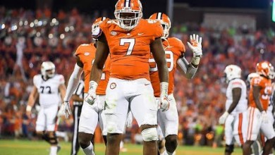 Photo of Lions Trade Down, select Clemson Defensive End