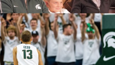 Photo of Steven Izzo, Son of Michigan State Men's Basketball Coach Tom, Scores His First Point as a Spartan (Video)