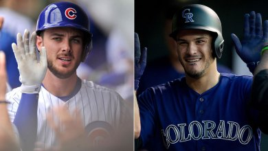 Photo of Report: Cubs and Rockies have discussed a 1-for-1 Kris Bryant-Nolan Arenado trade
