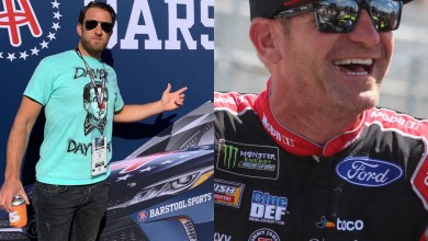 Photo of Barstool Sports 'El Presidente' Dave Portnoy Collaborates with NASCAR Driver Clint Bowyer in New Podcast | @barstoolsports @stoolpresidente @ClintBowyer
