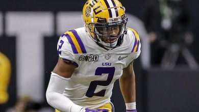 Photo of Minnesota Vikings Go Offense at #22, Select LSU Wide Receiver Justin Jefferson — #NFLDraft