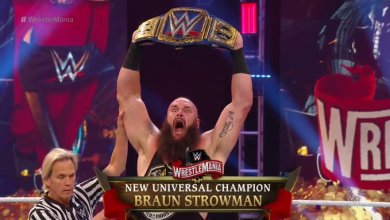 Photo of WrestleMania 36 Live Results – Braun Strowman Defeats Goldberg for The Universal Championship | #WrestleMania