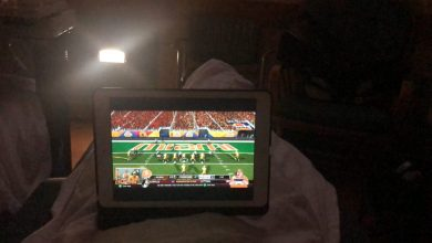 Photo of Watching National Championship From the Hospital Isn't That Bad