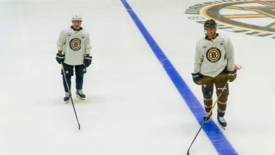 Photo of Patrice Bergeron and Brad Marchand Seem Distant. Should Bruins Fans be Worried?