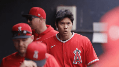 Photo of Shohei Ohtani Fails to Record an Out in His 2020 Pitching Debut