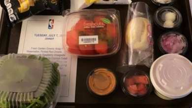 Photo of Culinary Masterpieces Live from the NBA Bubble