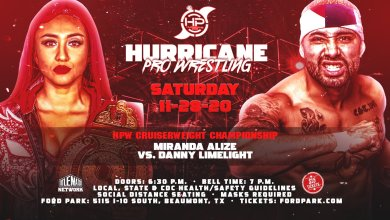 Photo of Hurricane Pro Wrestling Results 11/28/20