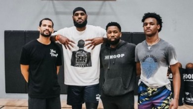 Photo of 2020 Has Been So Long Bronny James Looks Like A Grown Man Already.