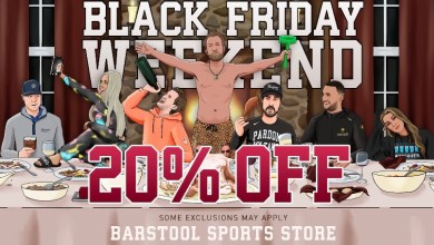 Photo of The Gift That Keeps On Giving Barstool Black Friday is Live Now! @stoolpresidente @EKANardini