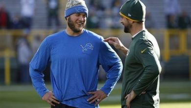 Photo of Aaron Rodgers Praises Matthew Stafford