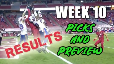 """Photo of The Hail Murray and Nick Chubb in the """"Gambling Graveyard"""" – NFL Week 10 Picks Results"""