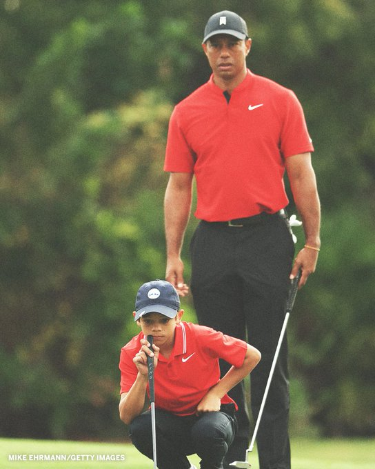 Tiger Woods' Son, Charlie, Sinks an Eagle After Incredible Tee Shot