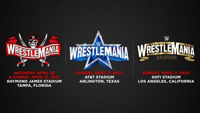 Photo of WWE Announces The Next THREE WrestleMania Locations And Dates!