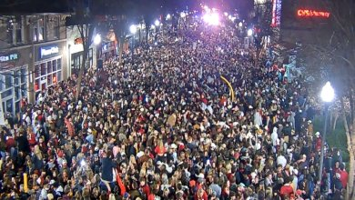 Photo of Watch: Tuscaloosa After Alabama National Championship Win – Wild Party – Party On The Strip #NationalChampionship
