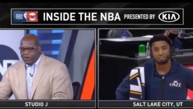 Photo of Shaq Once Again Proves Why He is The Worst Basketball Analyst With A Corny Challenge To Donovan Mitchell. @SHAQ