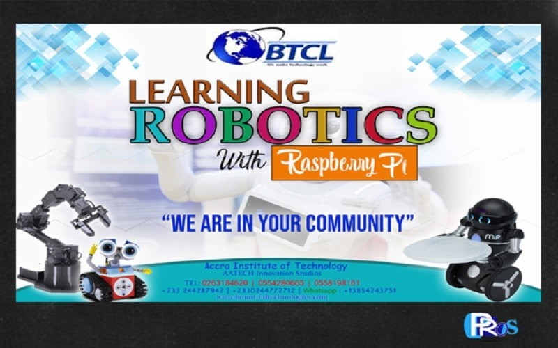 Bountiful robotics in Ghana