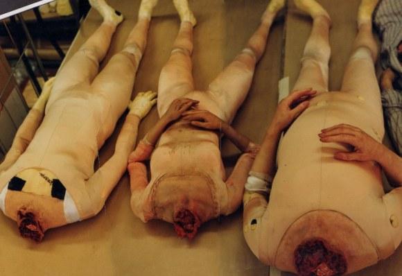 Fake bodies