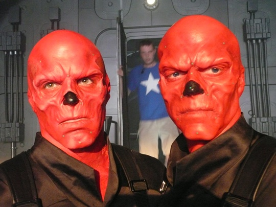 Red Skull double