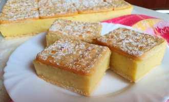 Торт «Наполеон» без випічки: на крекерах