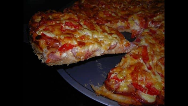 Чудова Піца на сковороді всього за 5 хвилин - коли потрібно швидко перекусити