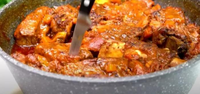 Будь-яке м'ясо, приготоване таким методом, виходить ніжним і тане в роті