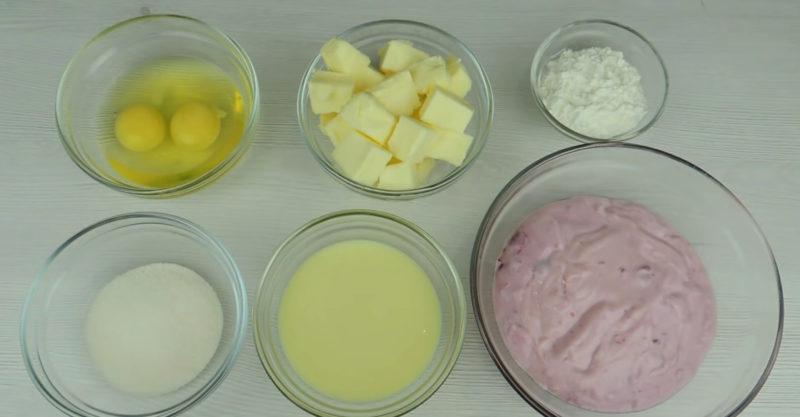 Дуже смачний заварний крем з йогурту і без вершків