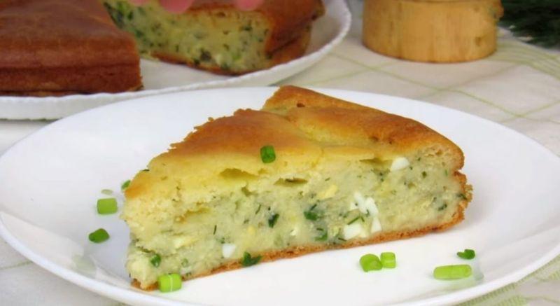 Заливний пиріг на кефірі з капустою. З рідкого тіста: готувати простіше простого