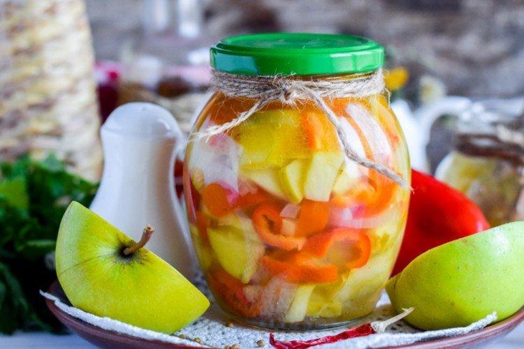 20 кращих рецептів салатів з солодкого перцю на зиму