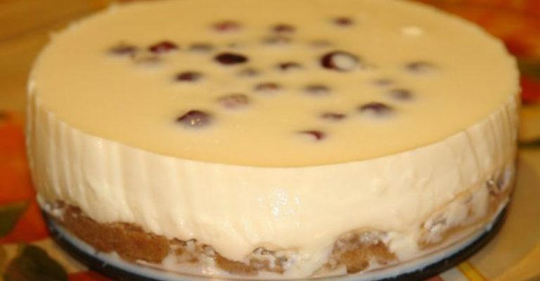 Рецепт улюбленого чизкейка зі згущеним молоком без випічки