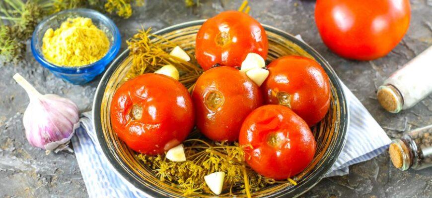 Надзвичайно смачні квашені помідори