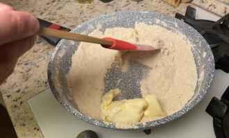 Десерт із смаженого борошна