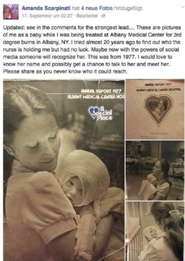 Когда был сделан этот снимок, никто и не подозревал, КАК он перевернет жизнь малышки спустя 38 лет.