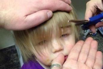 Прическам этой малышки завидуют даже взрослые красавицы. А все благодаря папе!